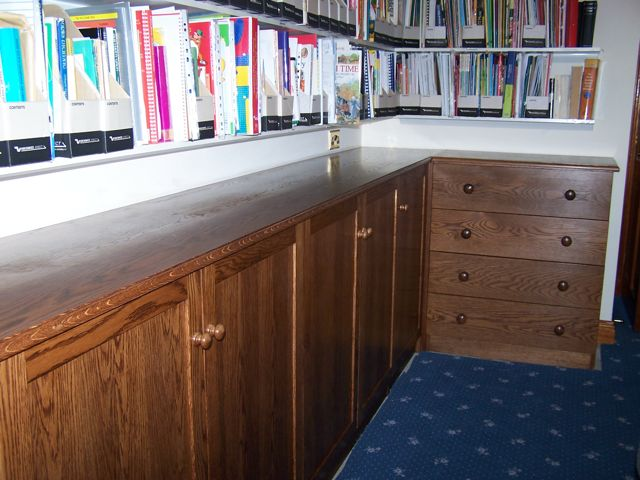 hand made, bespoke office furniture