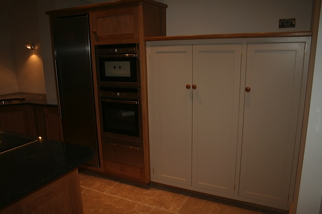 Built in cooker unit with warmer drawer